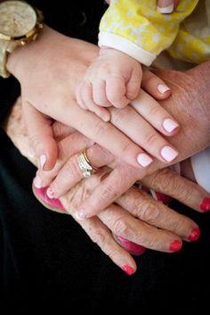 I want to do this. Grandma.. Grandpa... Berrett And baby!!!