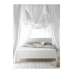 Chez nous on pinterest hemnes ikea and solid wood - Matelas ikea 140x200 ...