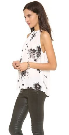 A.L.C. Annick Top | SHOPBOP - this would be perfect with leather pants (as @Shopbop styled!) or with a cute skirt.
