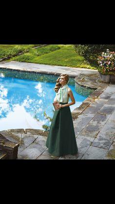 Emerald skirt