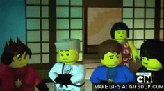 Ninja: We'll be ready Nya: LORD GARMADON IS BACK Ninja: *Scramble* XD