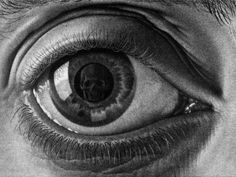 chaosophia218:  M.C. Escher - Eye, 1946.