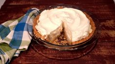 Carla Hall's Banana Cream Pie