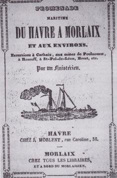 Édouard Corbière à le sens de la communication, il édite très tôt un petit guide…