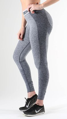 Flex leggings in Sapphire Blue Marl/Light Grey  are coming. Get ready!