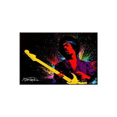 Jimi Hendrix Wood Mounted Wall Art ($52) ❤ liked on Polyvore featuring home, home decor, wall art, wooden home decor, wooden home accessories, guitar wall art, wooden wall art and jimi hendrix wall art