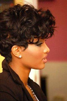 Short Black Hairstyles For Women Überprüfen Sie mehr unter http://frisurende.net/short-black-hairstyles-for-women/17836/
