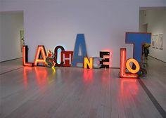 Word Sculptures by Jack Pierson