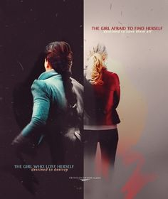 The girl who lost herself and the girl afraid to find herself