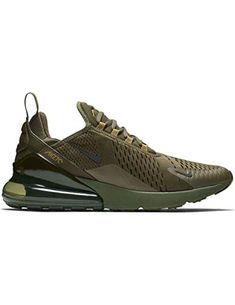 best authentic b89ad b2db2 NIKE Men s Air Max 270 Fitness Shoes, Multicolour Black Olive Canvas 301,  ...