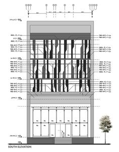 Gallery of Farmanieh Commercial-Office Building / Alidoost and Partners – 17 - Diy Techniques Commercial Building Plans, Office Building Plans, Office Building Architecture, Building Exterior, Building Facade, Facade Architecture, Building Design, Office Buildings, Retail Facade