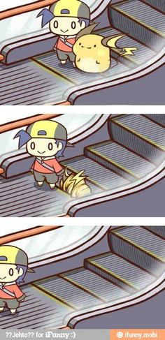 Whoever is turning out these Raichu comics, keep at it! they're adorable! Pokemon raichu cute / iFunny :)