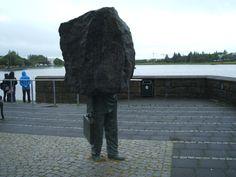 Thomassons Memorial to the Unknown Bureaucrat Reykjavik Iceland