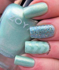 Zoya Dillon ; Essie Fashion Playground ; China Glaze Optical Illusion ; 3/21/14