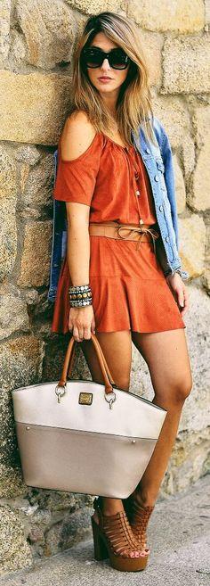 Ma Petite By Ana Fall Tones Outfit Idea