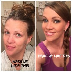 Time to wake up, make up ☺️ #www.youniqueproducts.com/ellieholmes #younique #youniqueproducts #primer #mascara #moisturizer