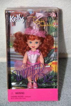 Mattel Barbie s Kelly Club KELLY as Wizard of Oz LULLABY MUNCHKIN Doll NRFB (B)