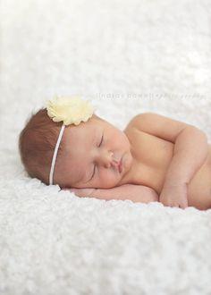 Buttercup Shabby Chic Headband..Newborn Headband..Baby Girl Headband..Headband..Infant Headband..Baby Headband..Rosette Flower Headband on Etsy