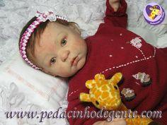 Reborn Doll Eloá by Pedacinho de Gente