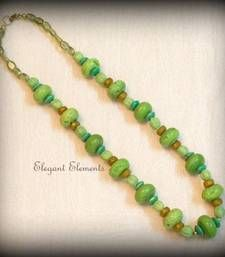Elegant Elements - HOT SELLING!!! COLORED BEAD NECKLACE