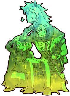 Lucy Heartfillia and Sagittarius