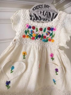 Check out this listing on Kidizen:  Embroidered Yusu Tex Dress #shopkidizen