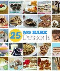 24 No Bake Recipes - Perfect for Summer from www.thisgalcooks.com #nabakedesserts #nobakerecipes