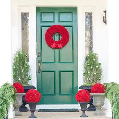 Festive Doors for the Holidays