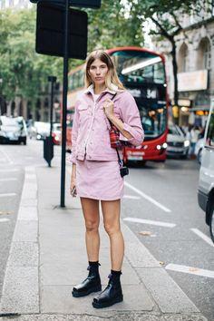Best Street Style Looks of LFW Spring 2018