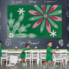The Kids Line Collection by Arte Espina Contemporary Rugs, Modern Rugs, Modern Floral Design, Childrens Rugs, Kids Line, Oriental Design, Green Rooms, Texture, Christmas Themes