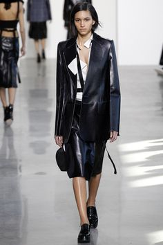 Calvin Klein Collection Fall 2016 Ready-to-Wear Fashion Show - Hanne Linhares