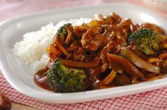 豚肉の薄切りでハッシュドポークのレシピ・作り方 - 簡単プロの料理レシピ   E・レシピ