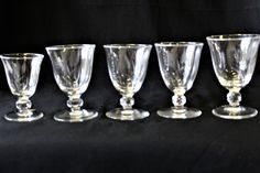 5 Vintage Mid Century 40's-50's Rosenthal Bleikristall Ceres Gray Cut Crystal Wheat Pattern Liquor/Cordial/Cocktail Glasses With Stickers by ShabbyCandleAntiques on Etsy