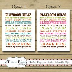 Fantastic print for your playroom.