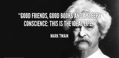 Mark Twain's take on writing still resonates with today's bloggers
