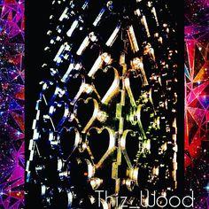 LED Disco Lantern looks promising... #lasercut #laseretched #laserengraved #lighting #lantern #led #disco #deserthearts #house #music#love #color #rainbow #shining #festival by thiz_wood