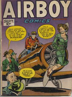 Comic Book Cover For Airboy Comics v4 8 [43]