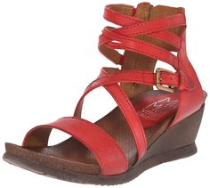 Miz Mooz Women's Shay Wedge Sandal * Unbelievable outdoor item right here! - Wedge sandals