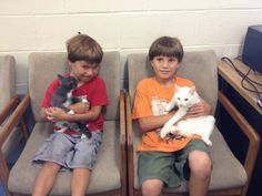 Marco & London ADOPTED Today Together! 8/28/14