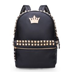 1e677d487d70 Women Rivet Crown PU Leather Backpack shows femininity. Shop on NewChic and  buy yourself the best women backpack.