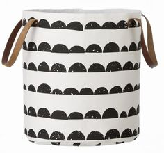 Use this graphic basket for anything you like - toys, clothes, shoes.