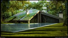 Strange house in the woods by Kostas Anninos | 3D | CGSociety