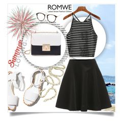 """ROMWE VI-2"" by melisa-hasic ❤ liked on Polyvore featuring Paloma Barceló"