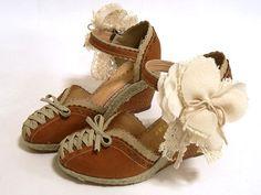 Mori Girl shoes