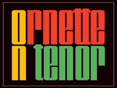 Ornette Coleman - ORNETTE ON TENOR [1962]  Weekend Playlist...