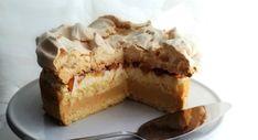 Przepis na tort nektarynkowy z bezą. Tort z nektarynkami - Klasa tortowa Cheesecake, Pie, Desserts, Torte, Tailgate Desserts, Cake, Deserts, Cheesecakes, Fruit Cakes