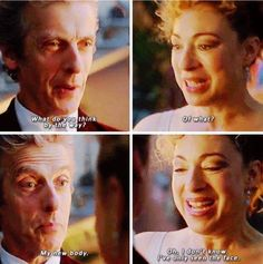 "Doctor Who ""The Husbands of River Song"" CHRISTMAS SPECIAL 2015 - The Doctor #PeterCapaldi and River #AlexKingston"
