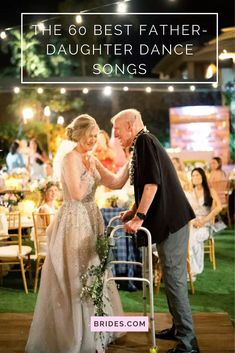 Looking for unique father-daughter dance songs? Check out 60 of the best songs for your dance with Dad! Unique Wedding Songs, Wedding Reception Music, Wedding Dance Songs, Wedding Playlist, Funny Wedding Photos, Wedding Videos, Wedding Humor, Wedding Shot, Wedding