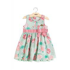 Vestido Bebê e Infantil em Voil Milon Premium