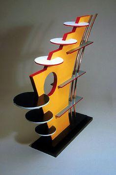 foamboard sculpture, reminds me of 3D design in college...